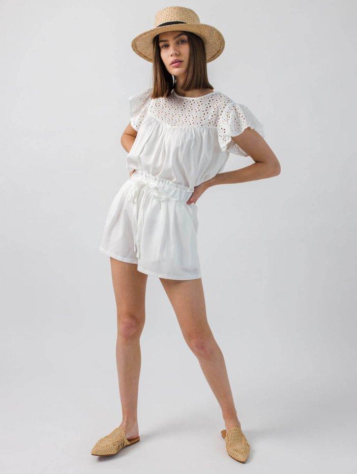 Biele šortky Lunette