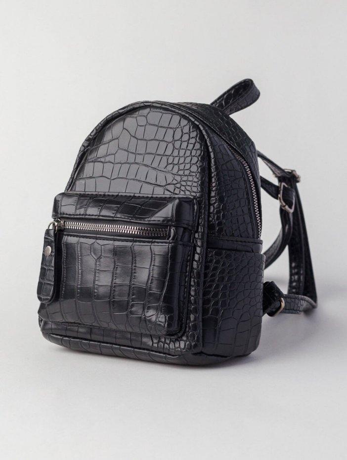 Čierny ruksak Sindy