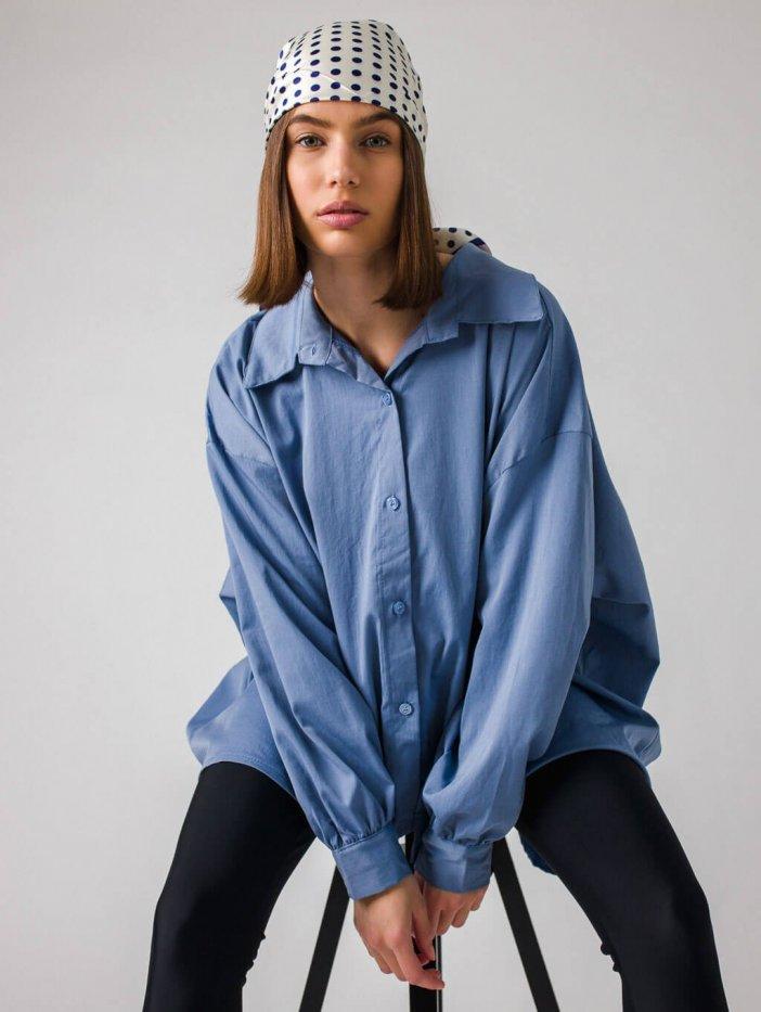 Modrá košeľa Harsia