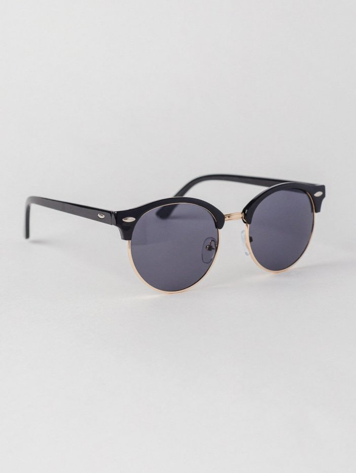 Čierne slnečné okuliare Donie