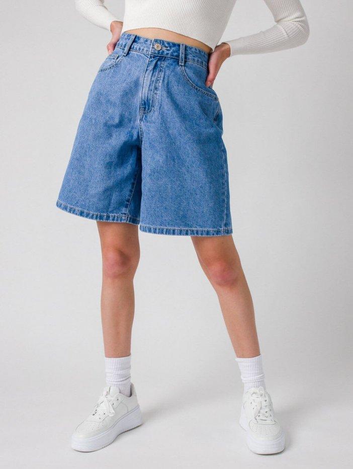 Rifľové krátke nohavice Kristin