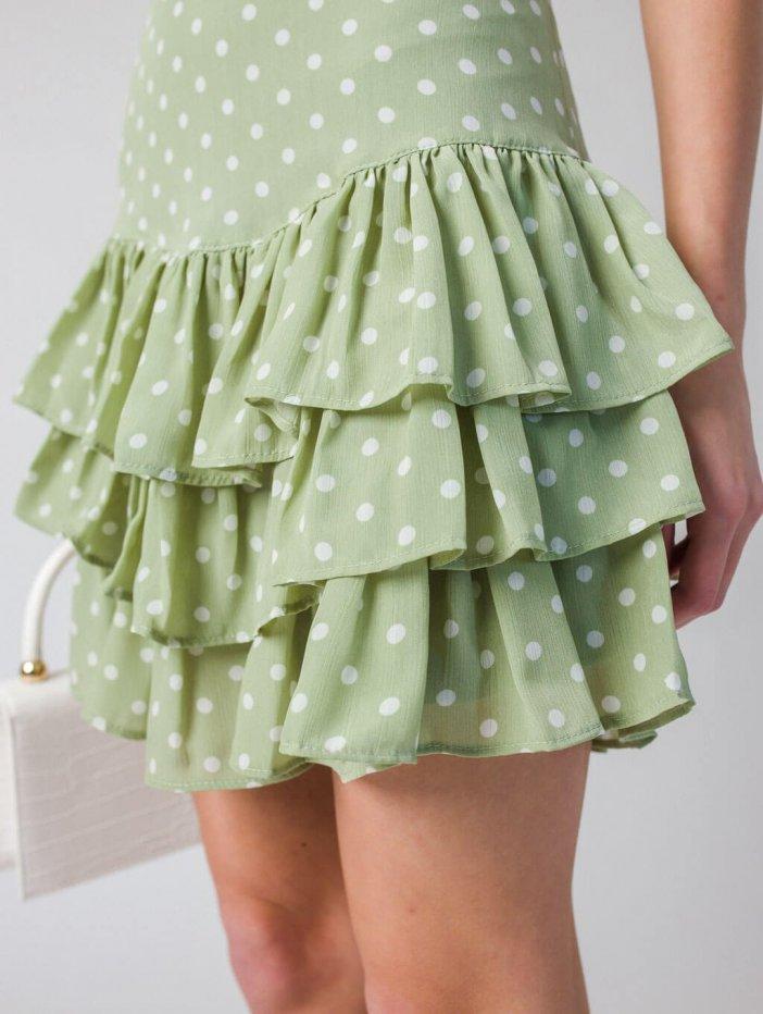 Zelená sukňa Nichole