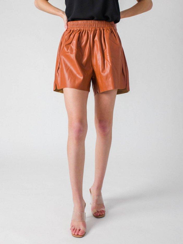 Hnedé šortky Harlee