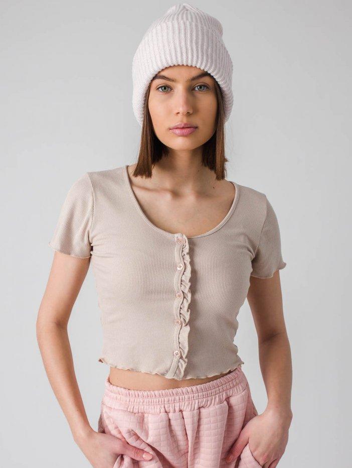 Béžové tričko Debie