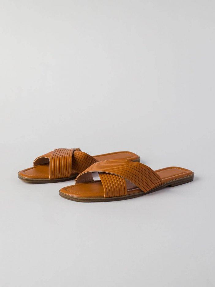 Hnedé šľapky Girra