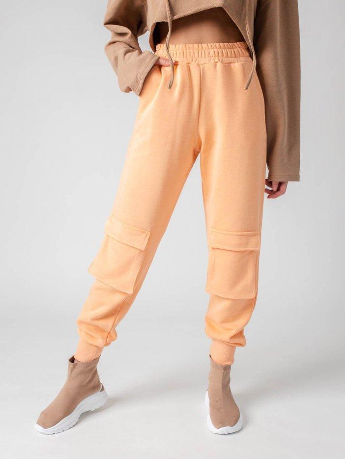 Oranžové tepláky Carlene