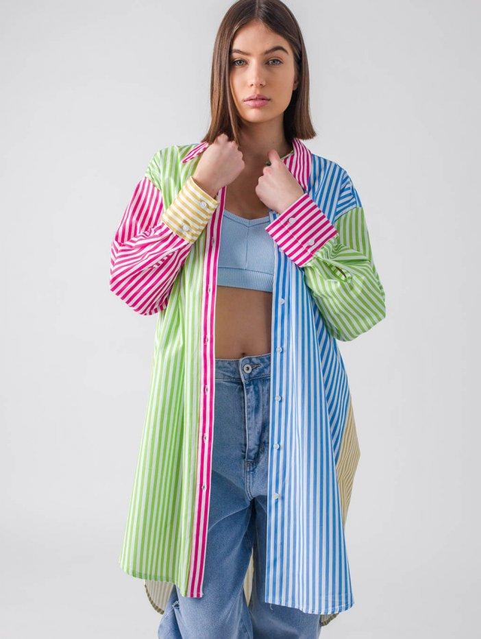 Viacfarebná košeľa Mirri