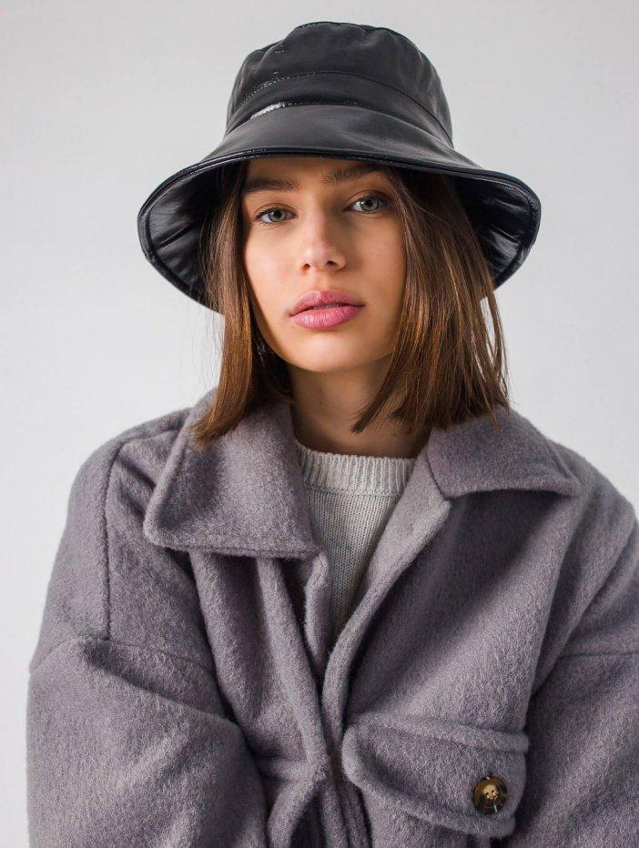 Čierny klobúk Venna