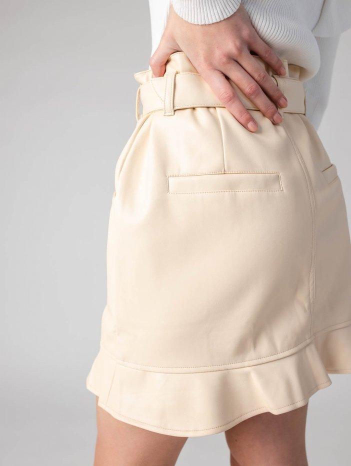Béžová sukňa Anteia