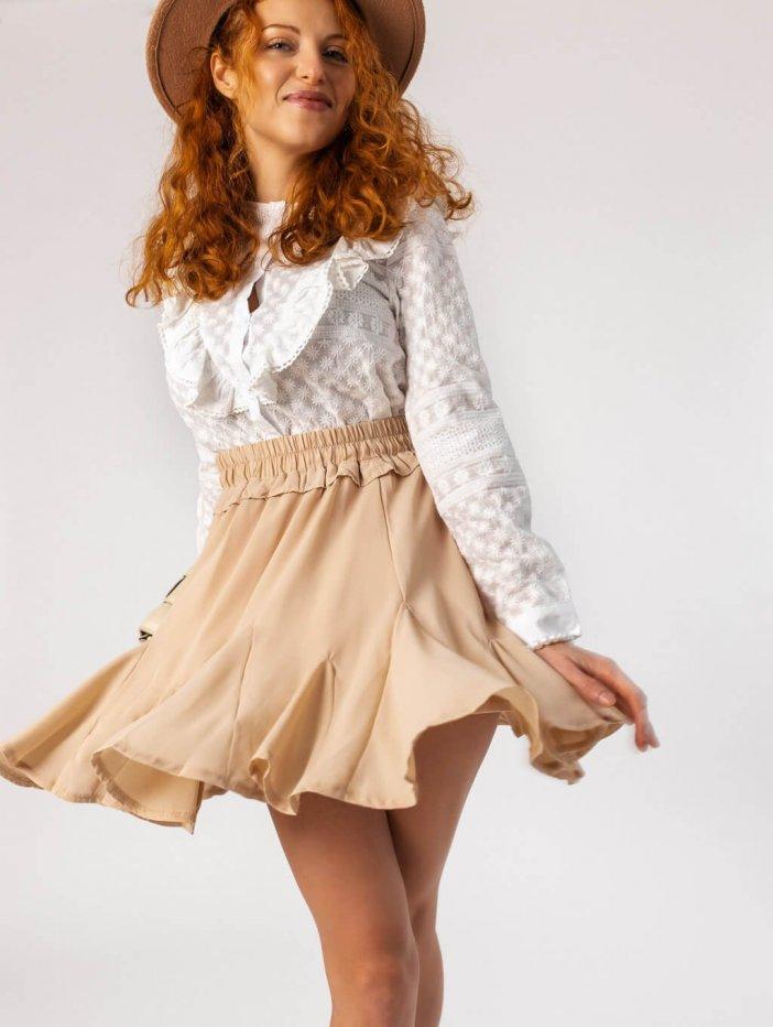 Béžová sukňa Lilly