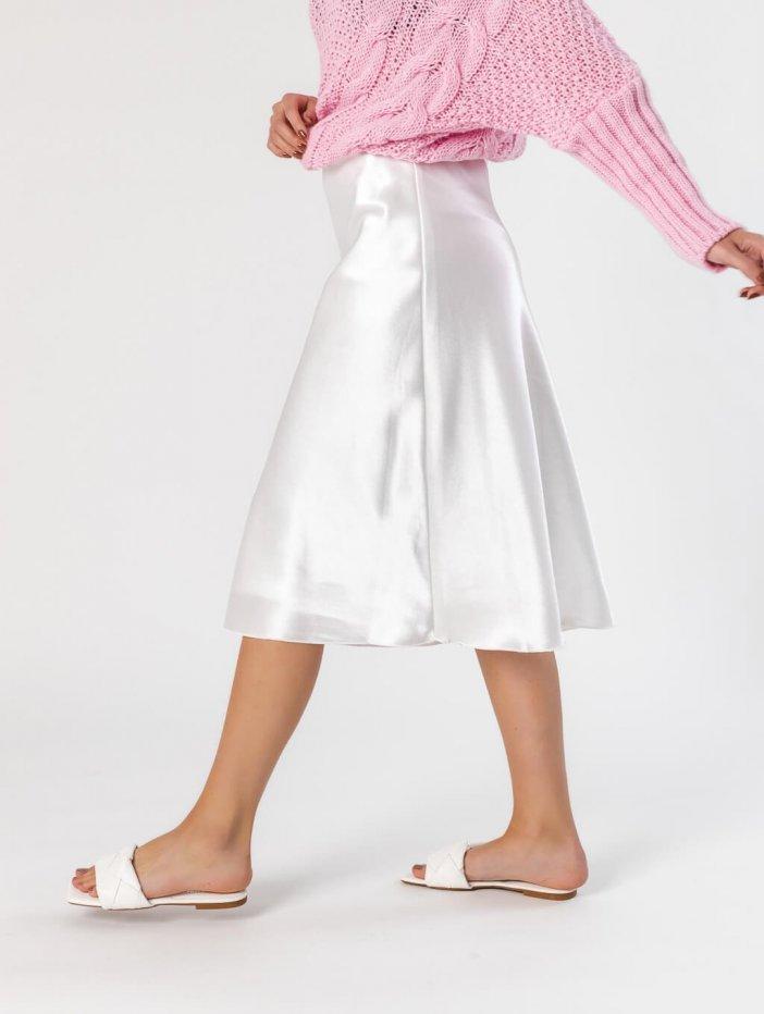 Biela sukňa Suzie