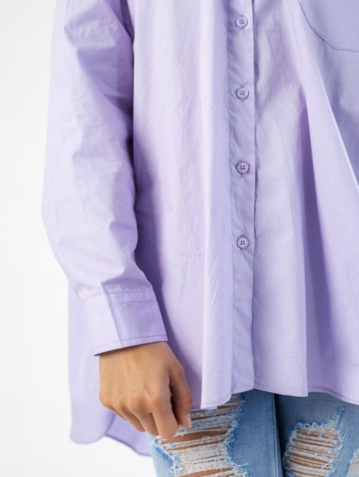 Fialová košeľa Fiona