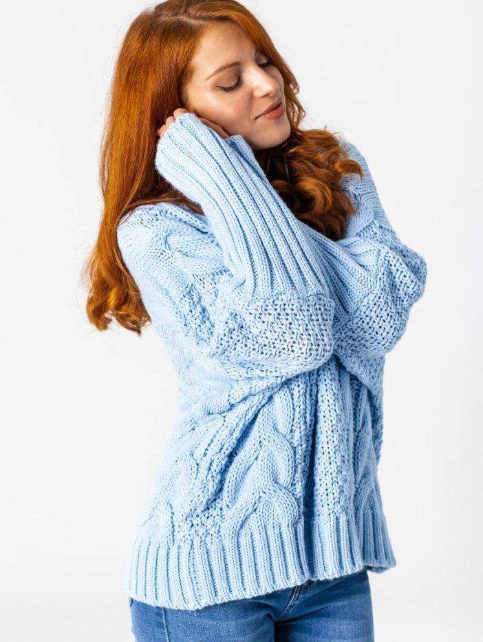 Modrý sveter Melanie