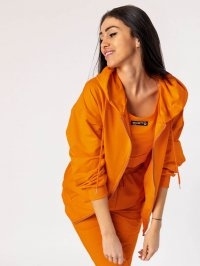 Oranžová tepláková súprava Kendra