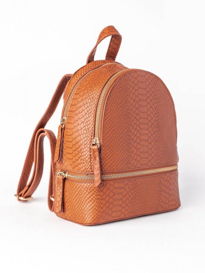 Tmavohnedý ruksak Jinny