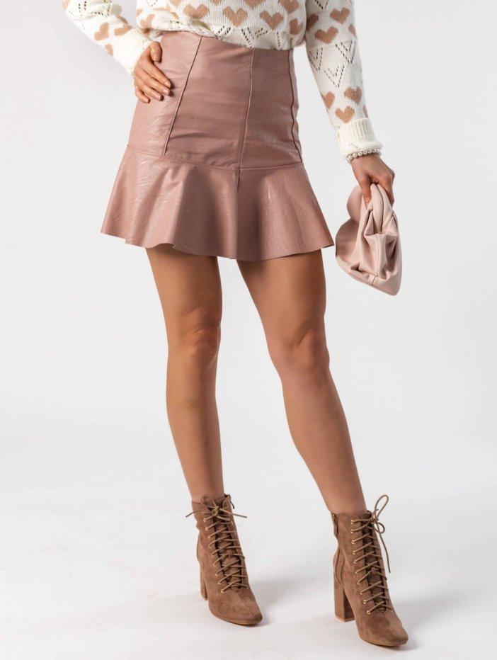 Ružová sukňa Peggie