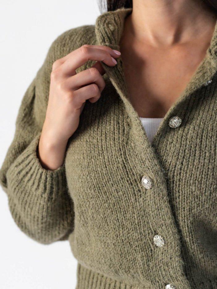 Zelený sveter Isabella