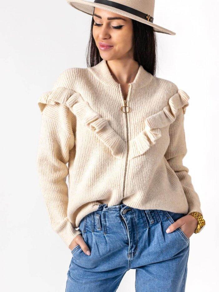 Béžový sveter Eirin