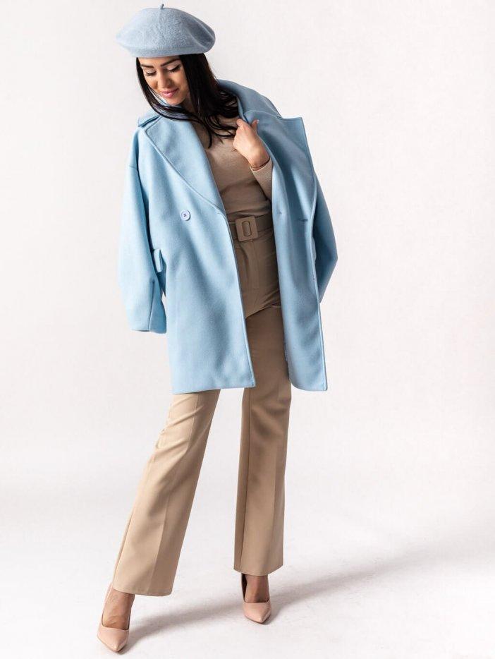 Bledomodrý kabát Matteo
