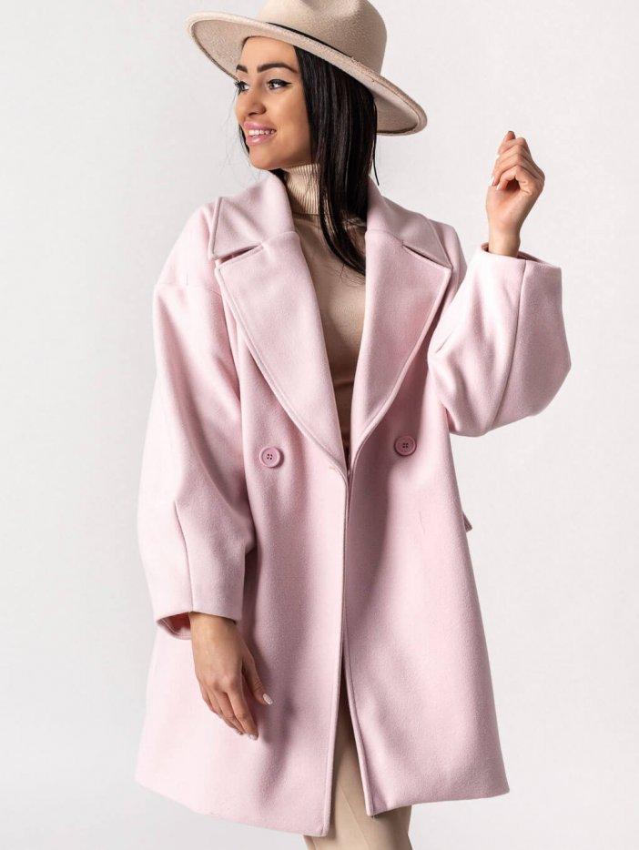 Bledoružový kabát Matteo