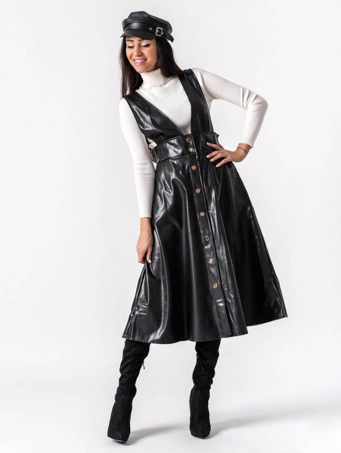 Čierna sukňa Eliana