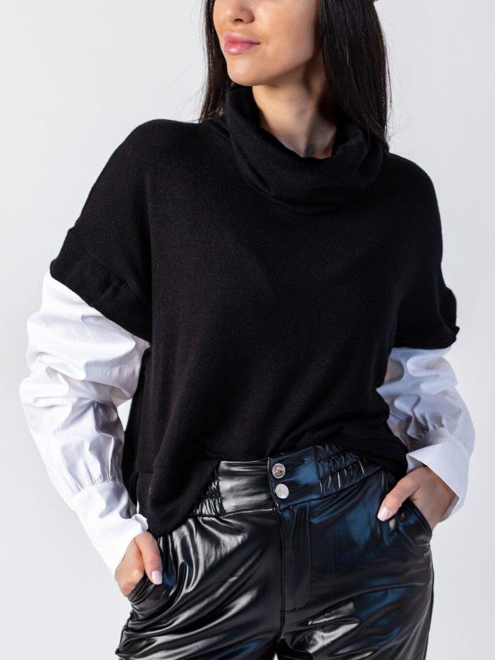 Čierny sveter Lindsay