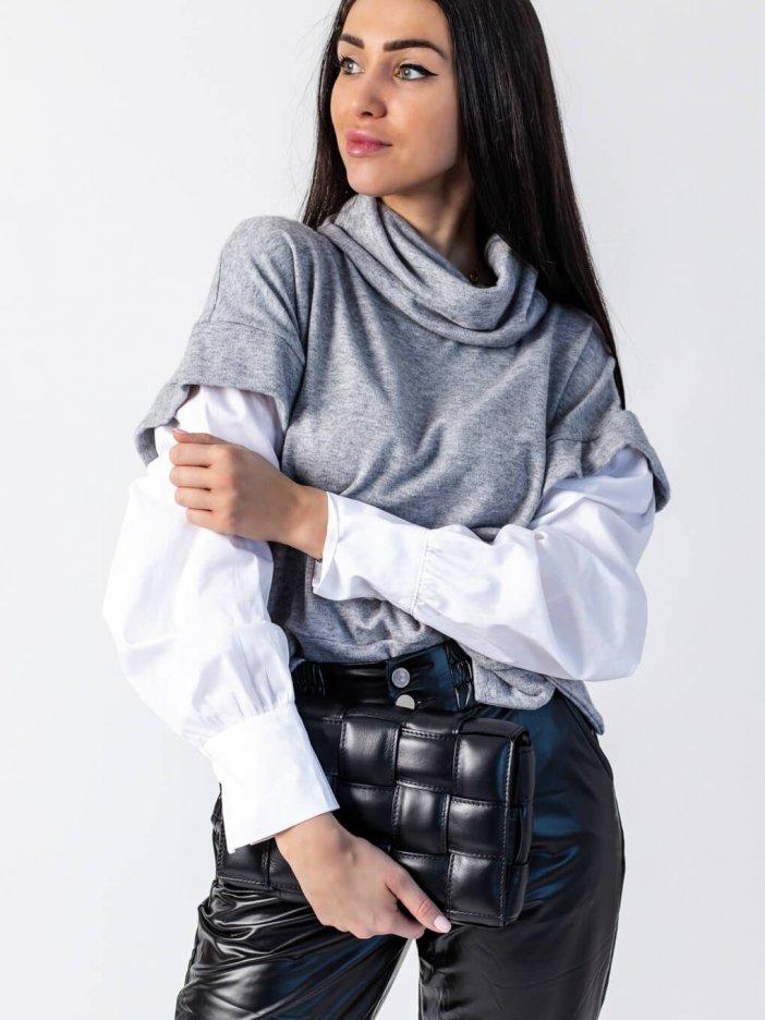 Sivý sveter Lindsay