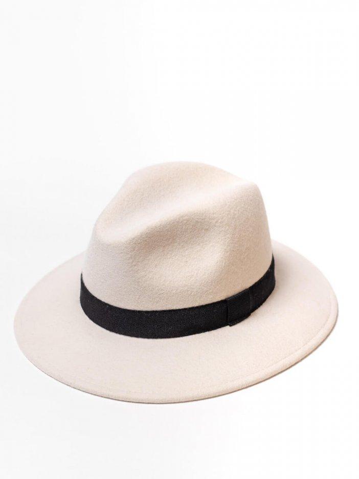 Smotanový klobúk Ross