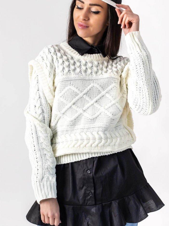 Smotanový sveter Zarra