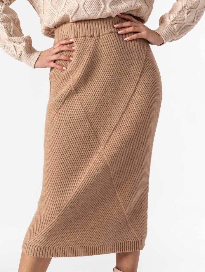 Hnedá sukňa Gabriela