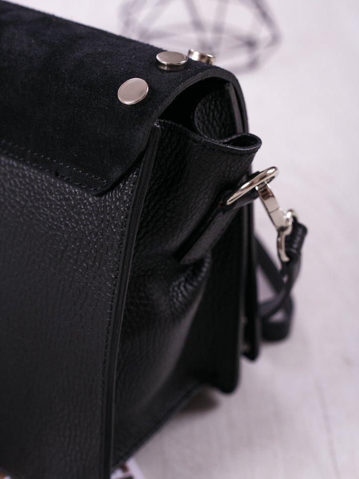 Čierna crossbody kabelka Camilla