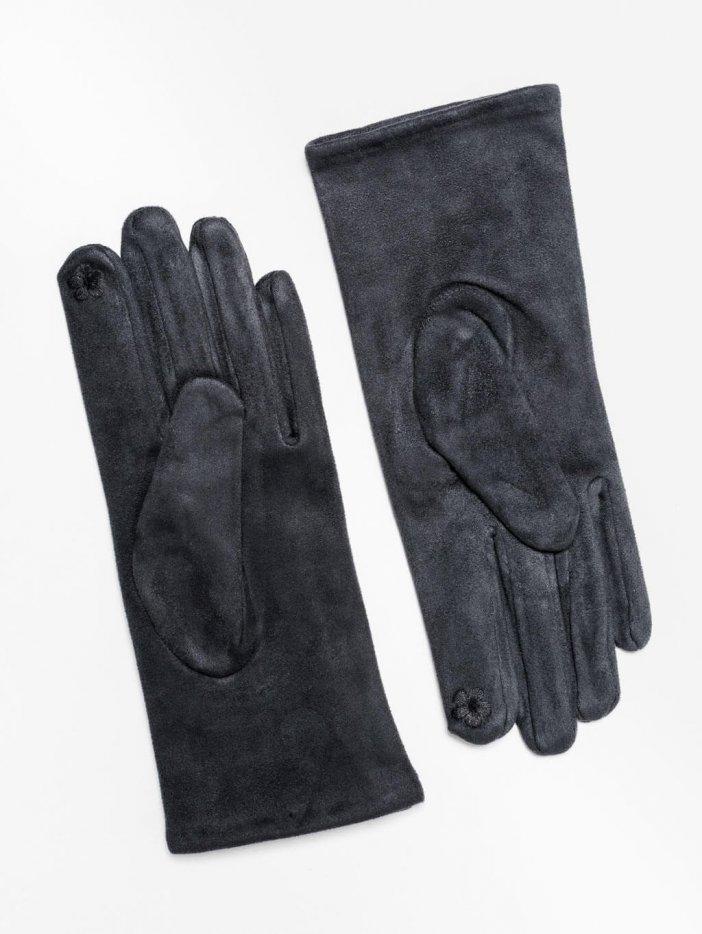 Sivé rukavice Madeline