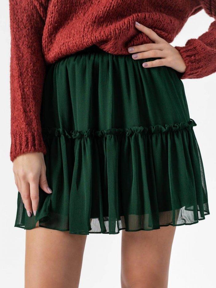 Zelená sukňa Monna