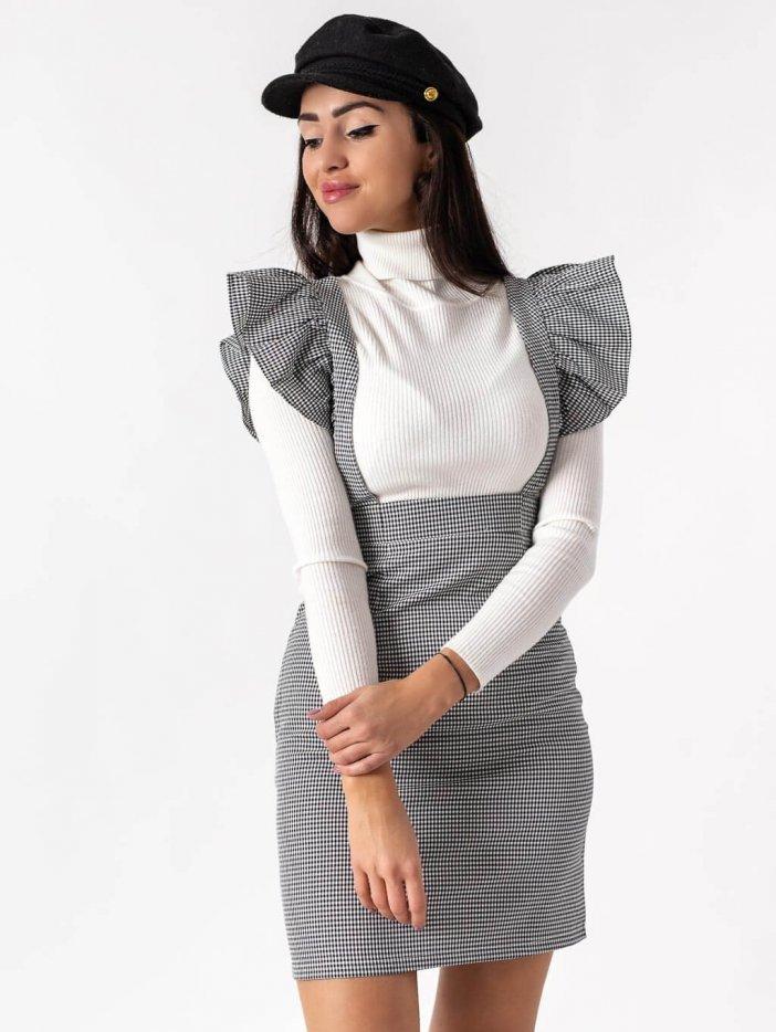 Čierno-biela sukňa Lara