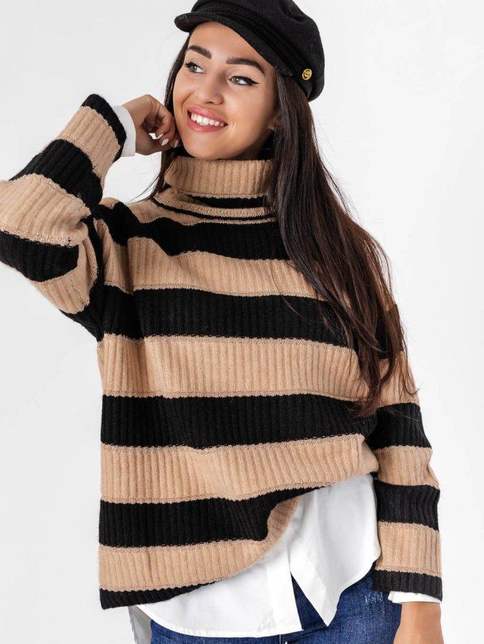 Pásikavý sveter Macy