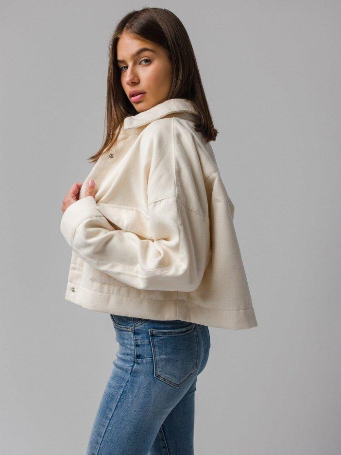 Béžová bunda Ester