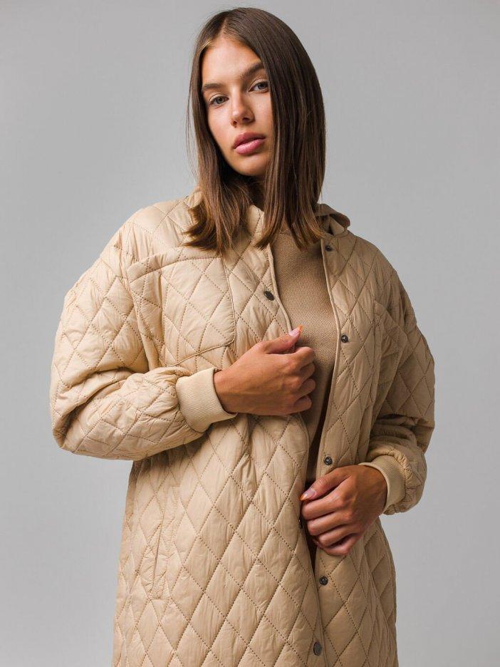Béžová bunda Zenny