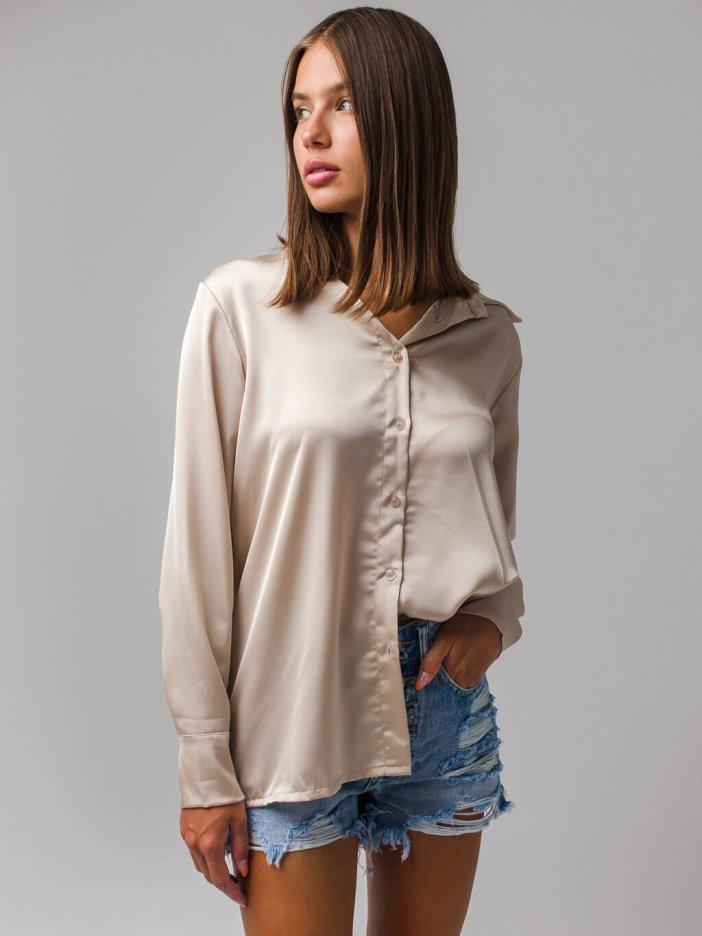 Béžová košeľa Suanna