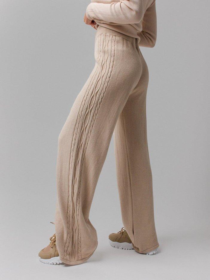 Béžové nohavice Azero