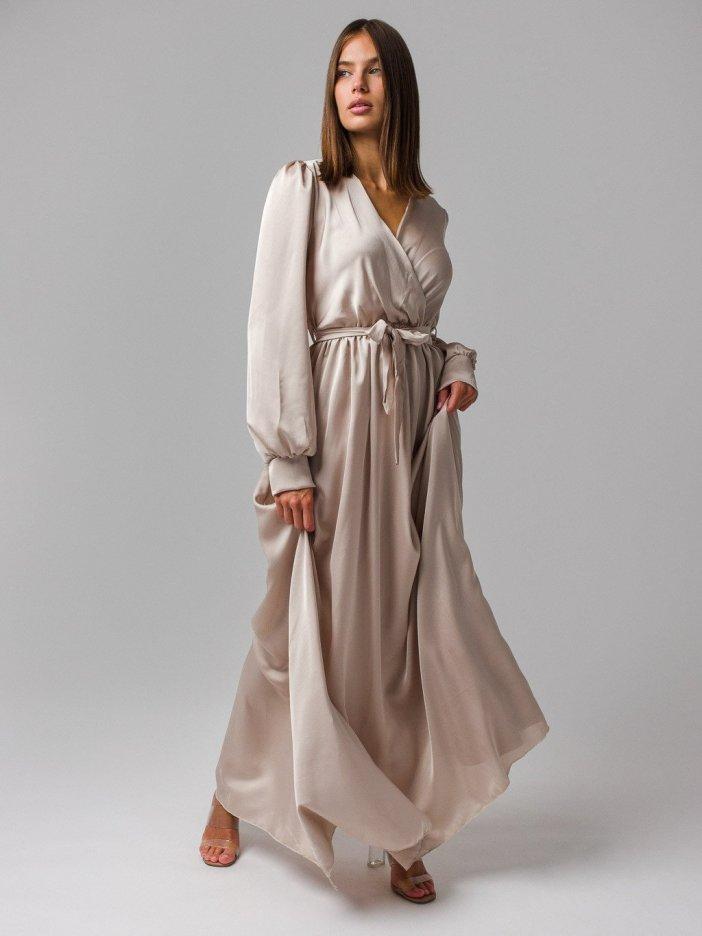 Béžové šaty Alessa