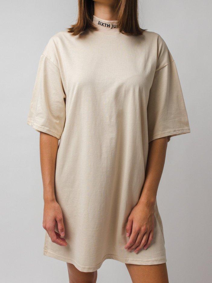 Béžové šaty Tiuna
