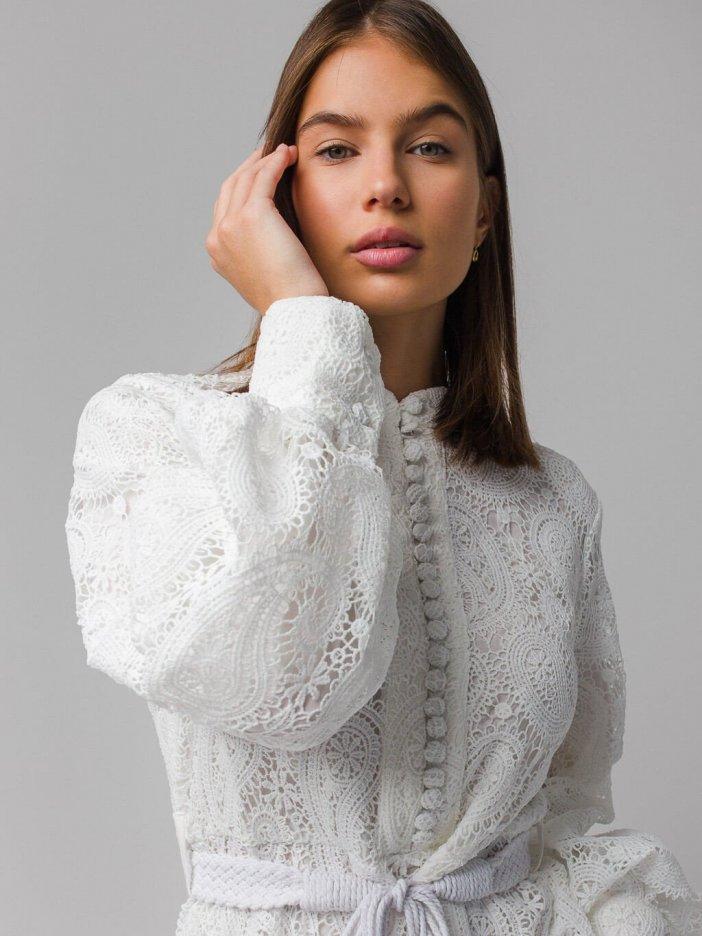 Biele šaty Mariett