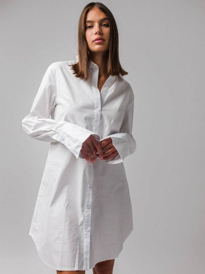 Biele šaty Seanna