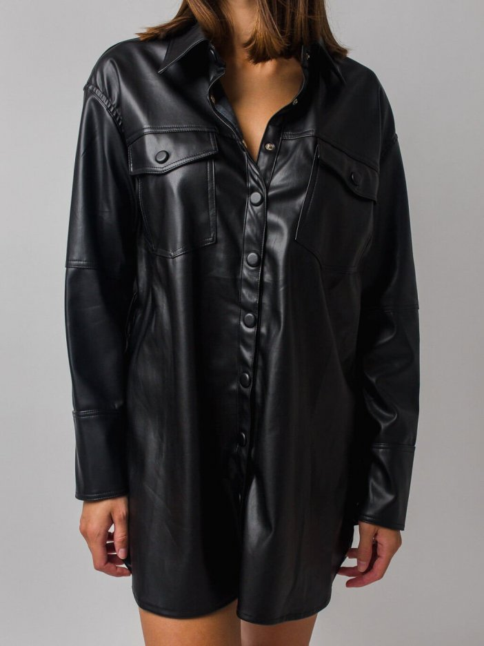 Čierna košeľa Heather