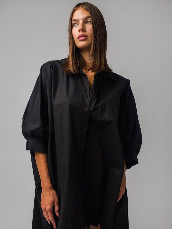 Čierne šaty Ita