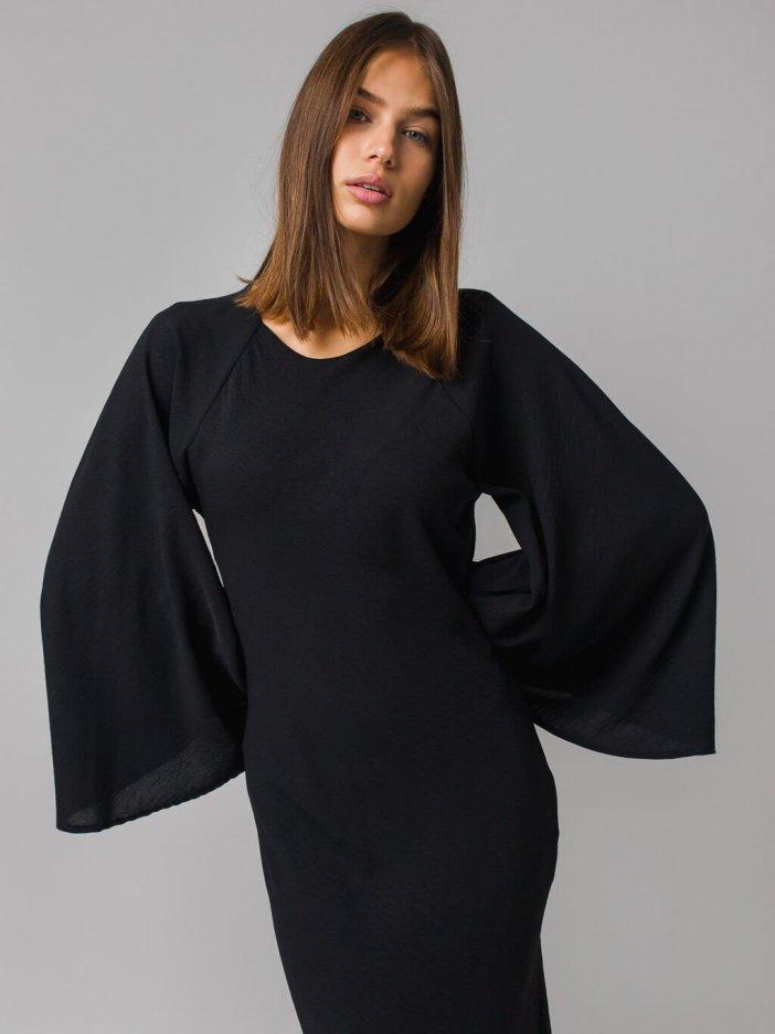 Čierne šaty Jordana