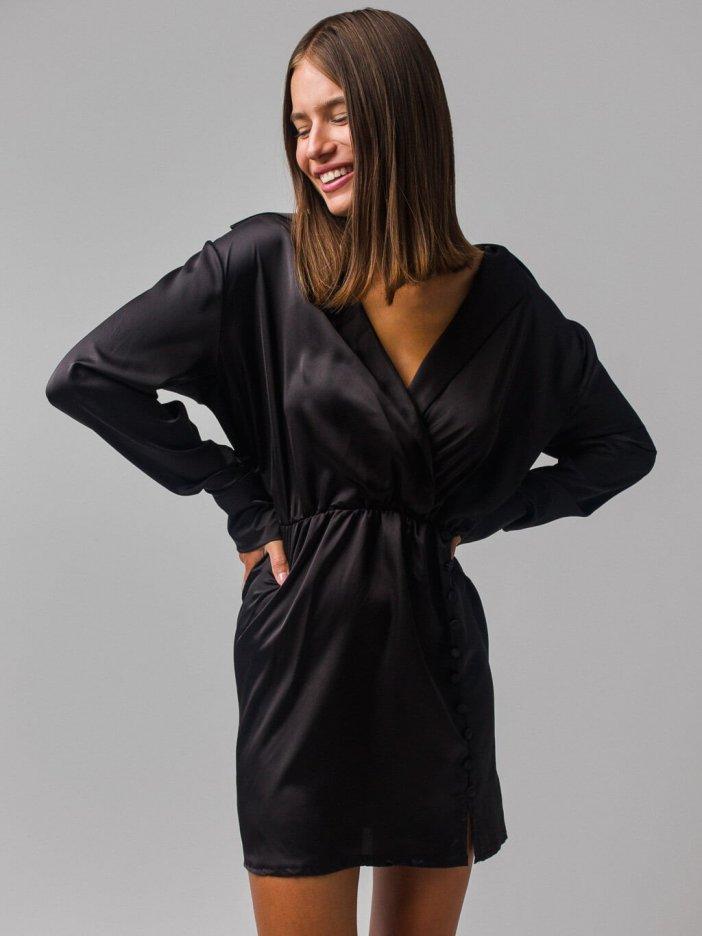 Čierne šaty Sofia