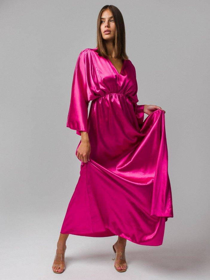 Cyklámenové šaty Celina