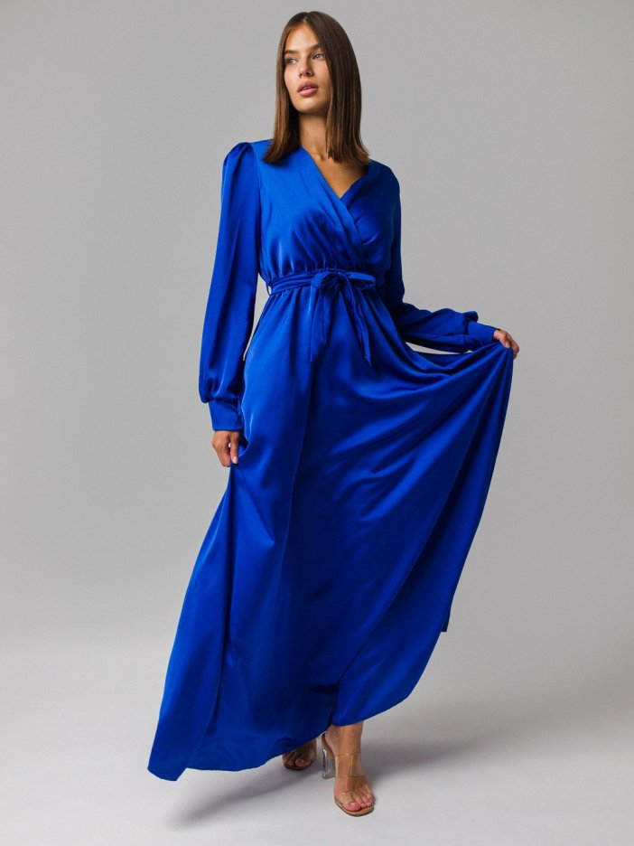 Modré šaty Alessa