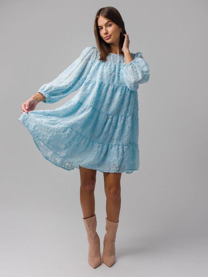 Modré šaty Violet